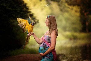 custom maternity photography