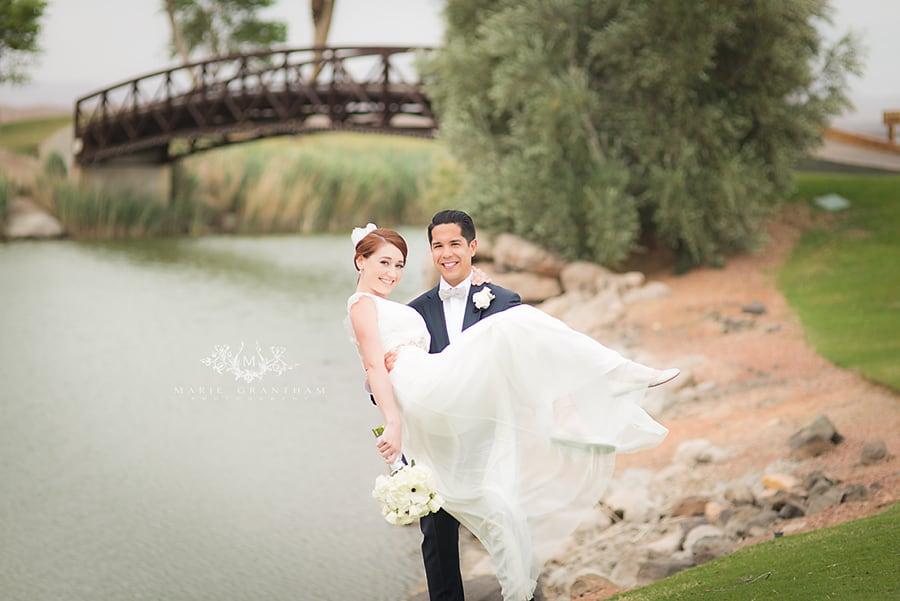 Lake Las Vegas Wedding Photos