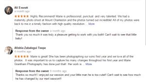 Google Las Vegas Photography Reviews